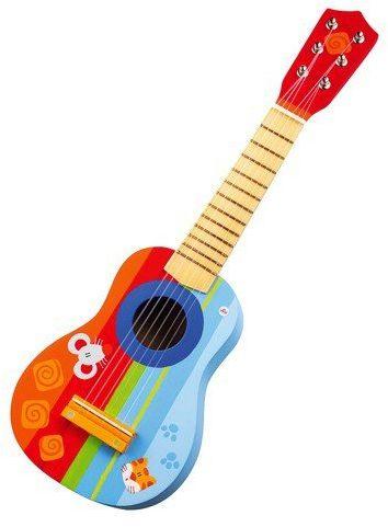 Drewniana gitara dla dziecka, 82012-Sevi - instrumenty dla dzieci
