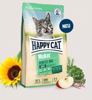 HC-3966 Happy Cat Minkas Perfect Mix (drób, ryba i jagnięcina) 500g