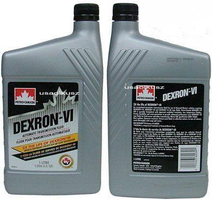 Olej do automatycznych skrzyń biegów DEXTRON ATF VI 1l Dodge