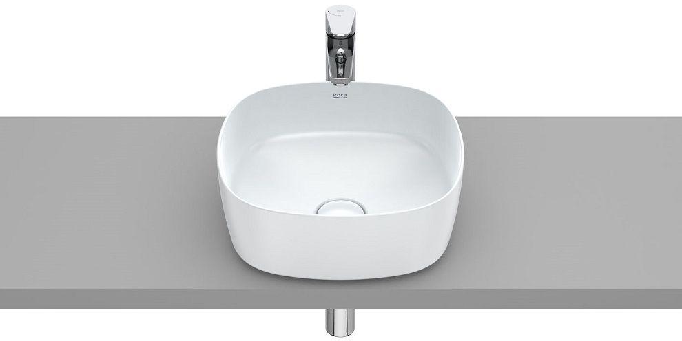Roca Inspira Soft umywalka nablatowa 37cm Perłowy A327502630