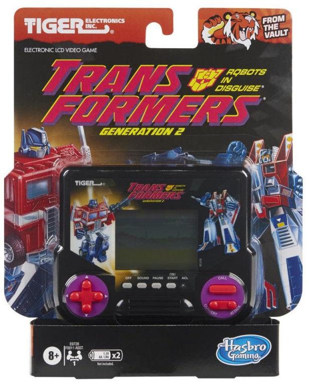 Gra elektroniczna Tiger Electronics Transformers