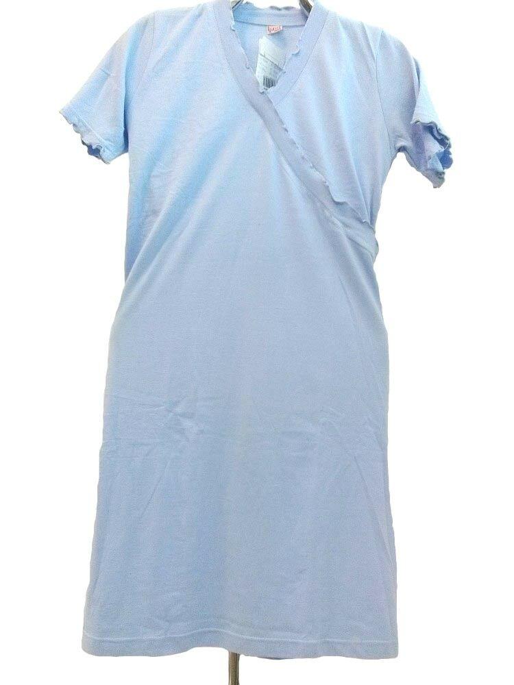 Koszula damska falbanka 23 S niebieska Luna