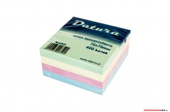 Kostka samoprzylepna DOTTS 75x75 400 kartek pastelowa (NSKP/D)
