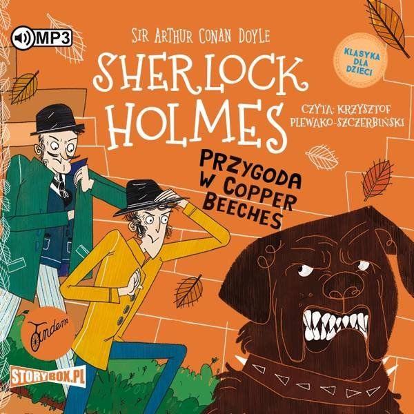 CD MP3 Przygoda w Copper Beeches. Klasyka dla dzieci. Sherlock Holmes. Tom 12 - Arthur Doyle Conan