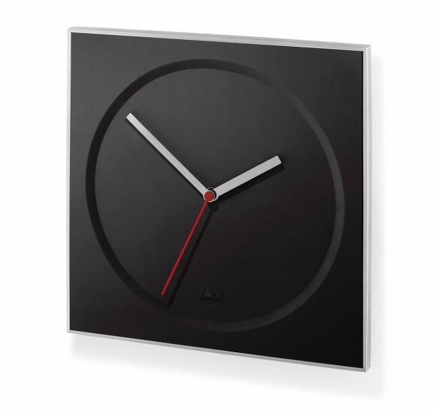Zack HOYO Zegar Ścienny Kwadratowy - Czarny