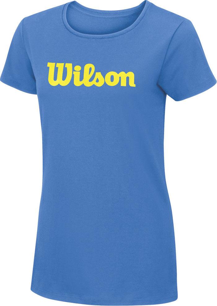 Wilson W Script Cotton Tea - regatta