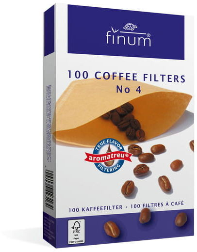 Finum filtry do kawy nr 4 100 szt.