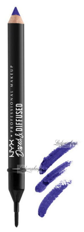 NYX Professional Makeup - DAZED & DIFFUSED BLURRING LIPSTICK - Kredka do ust z pędzelkiem - TWISTED