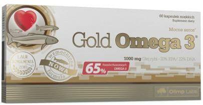 Olimp Gold Omega-3 1000mg 60 kapsułek