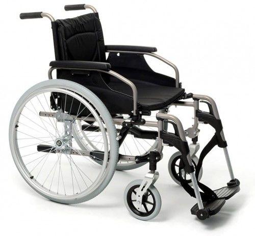 Wózek inwalidzki aluminiowy V300
