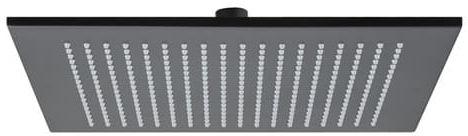 Deszczownica kwadratowa 300 mm,Czarny mat