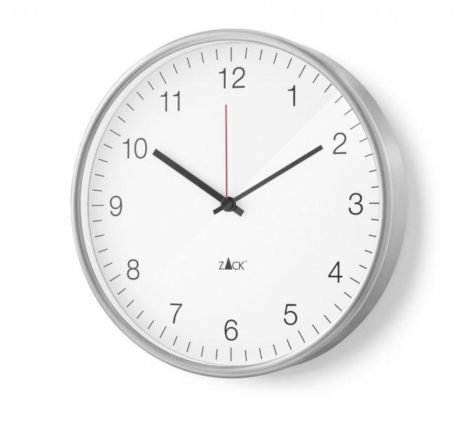 Zack PALLA Zegar Ścienny 30 cm Biały