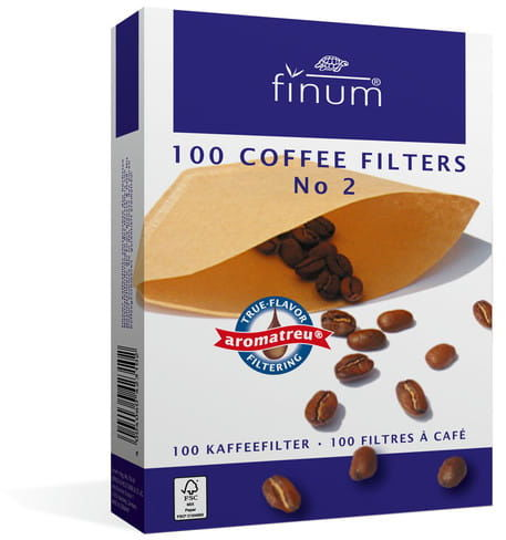 Finum filtry do kawy nr 2 100 szt.