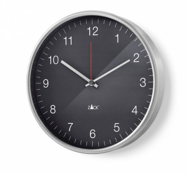 Zack PALLA Zegar Ścienny 30 cm Szary