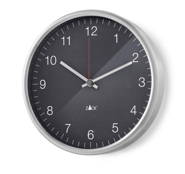 Zack PALLA Zegar Ścienny 24 cm Szary