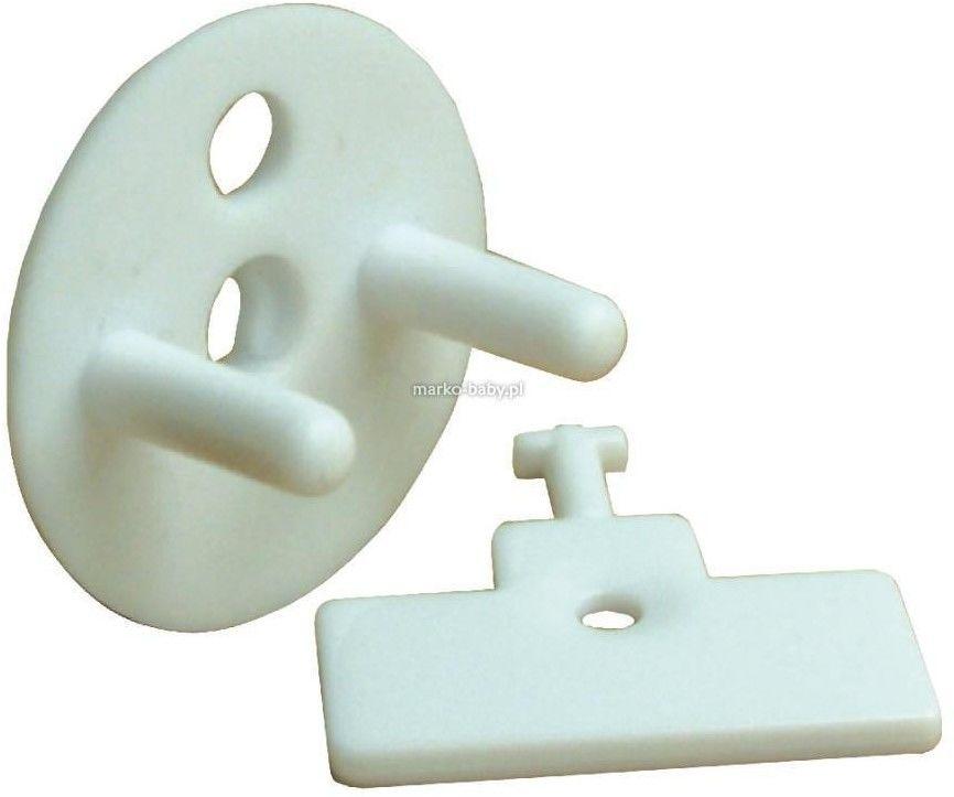Dreambaby Zaślepka na gniazda elektryczne - 12 szt + 4 klucze