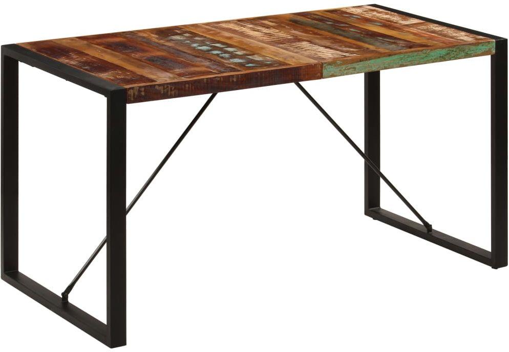 Wielokolorowy stół industrialny 70x140  Veriz 2X