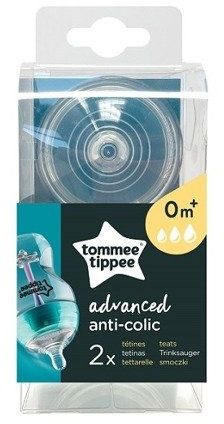 Smoczek Tommee Tippee 0m+ antykolkowy Advanced