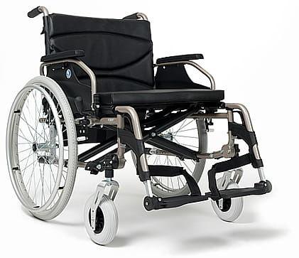 Wózek inwalidzki aluminiowy V300XXL