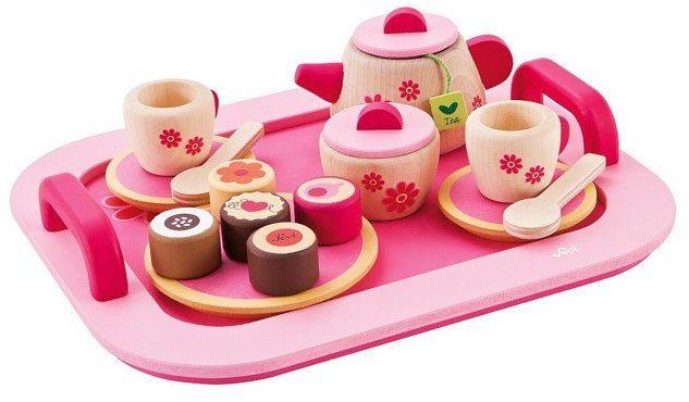 """Zestaw kuchenny """"Spróbuj mojej herbaty"""", 82314-Sevi, zabawy w kuchnie dla dzieci, zabawki drewniane"""