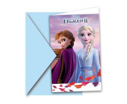 Zaproszenia Frozen 2, Kraina Lodu