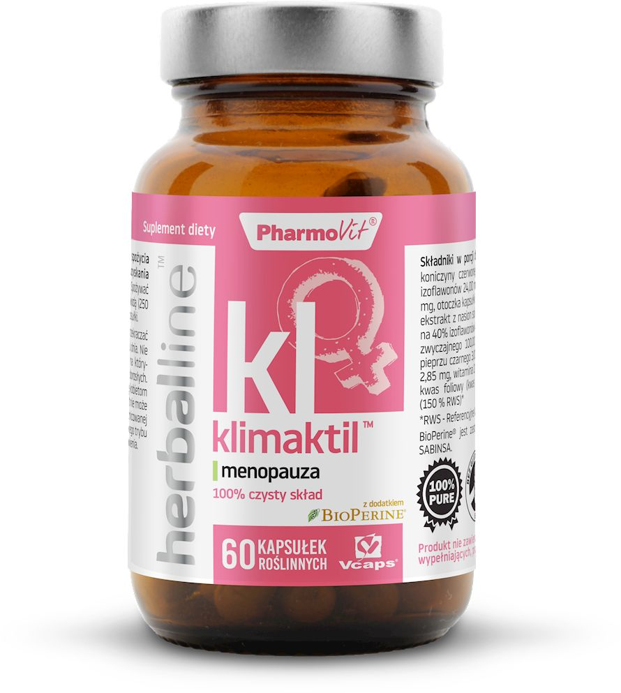 Klimaktil 60 kapsułek 27,16 g - pharmovit (herballine)