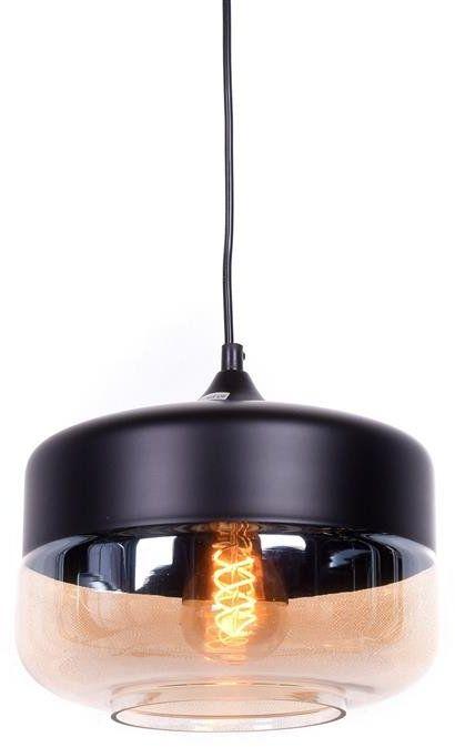 Lumina Deco Barlet loftowa industrialna czarna lampa wisząca