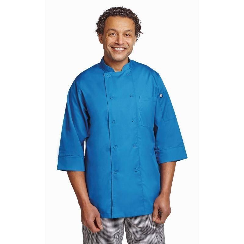 Koszula kucharska niebieska różne rozmiary
