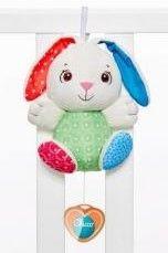Chicco First Love - Fluffy Grający królik z magicznym serduszkiem 07930