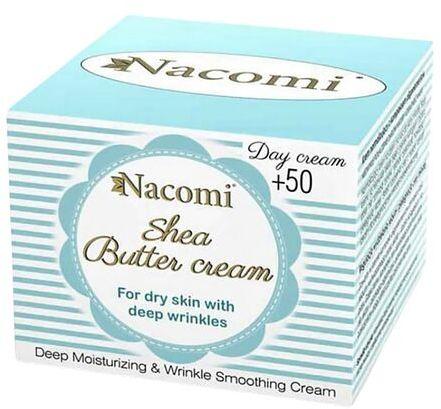 Krem do twarzy Nacomi 50+ Shea na dzień - 50 ml