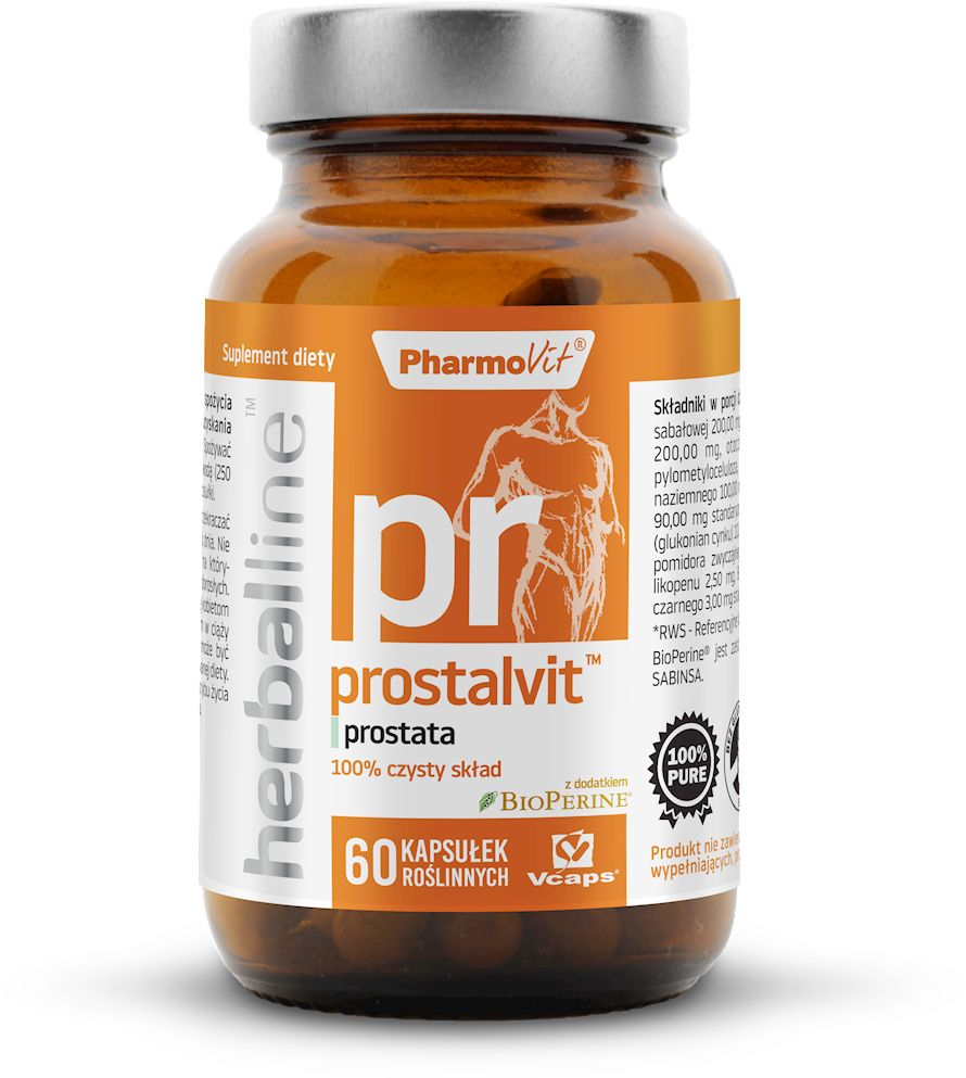 Prostalvit 60 kapsułek 27,74 g - pharmovit (herballine)