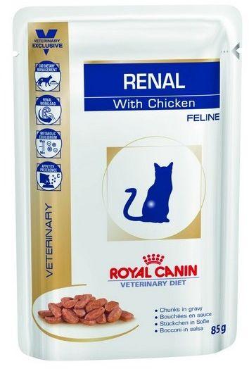 Royal Canin Veterinary Diet Feline Renal Kurczak saszetka 85g