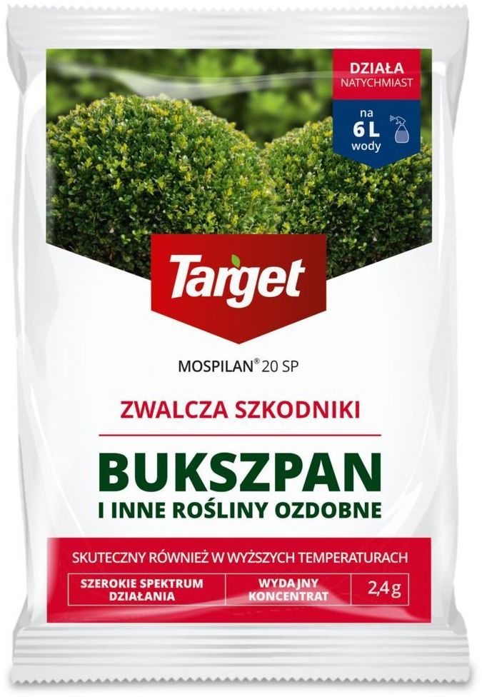 Środek owadobójczy MOSPILAN 20SP 2,4 g TARGET