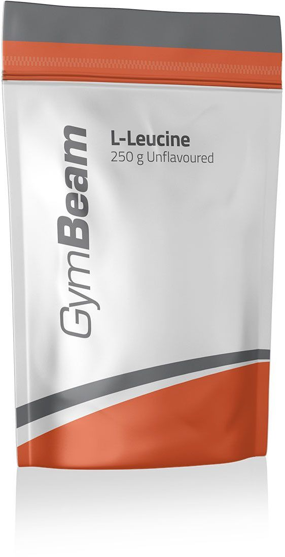 GymBeam L-Leucyna 250 g bez smaku