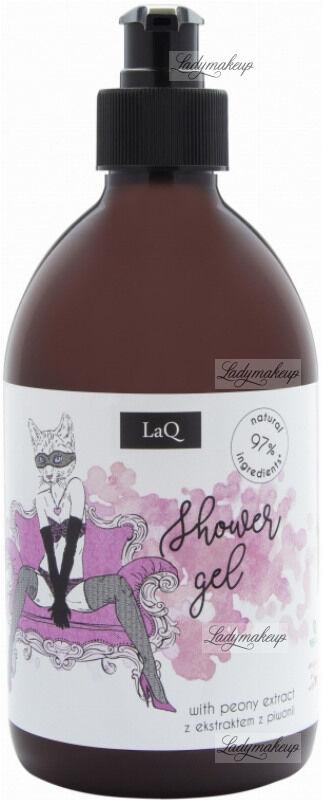 LaQ - Shower Gel - Żel pod prysznic dla prawdziwych kocic z ekstraktem z piwonii - 500 ml