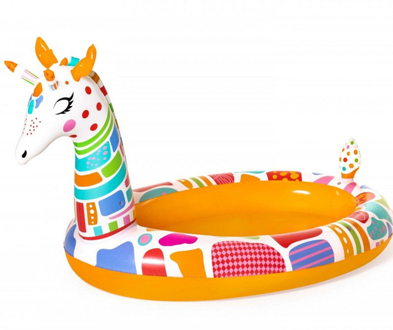 Bestway - Basen dmuchany Żyrafa safari 53089