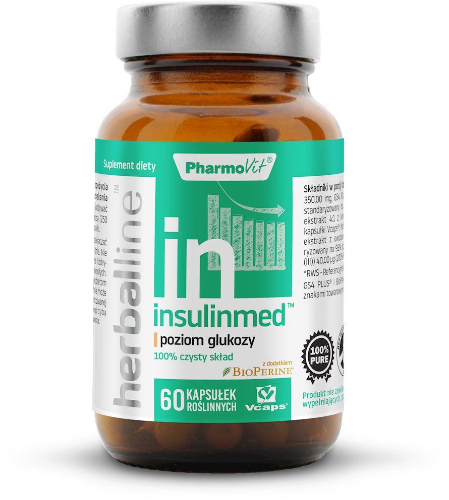 Insulinmed 60 kapsułek 28,58 g - pharmovit (herballine)