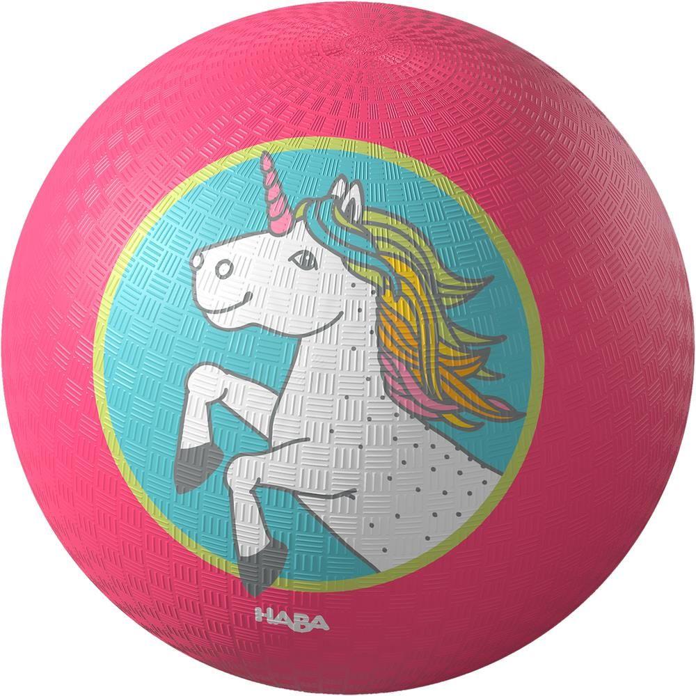 Piłka dla dzieci Jednorożec HB305335-Haba, aktywność fizyczna