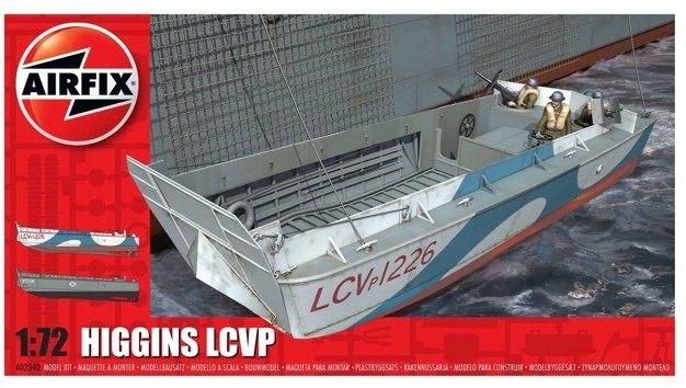 Barka Higgins LCVP model do sklejania Airfix