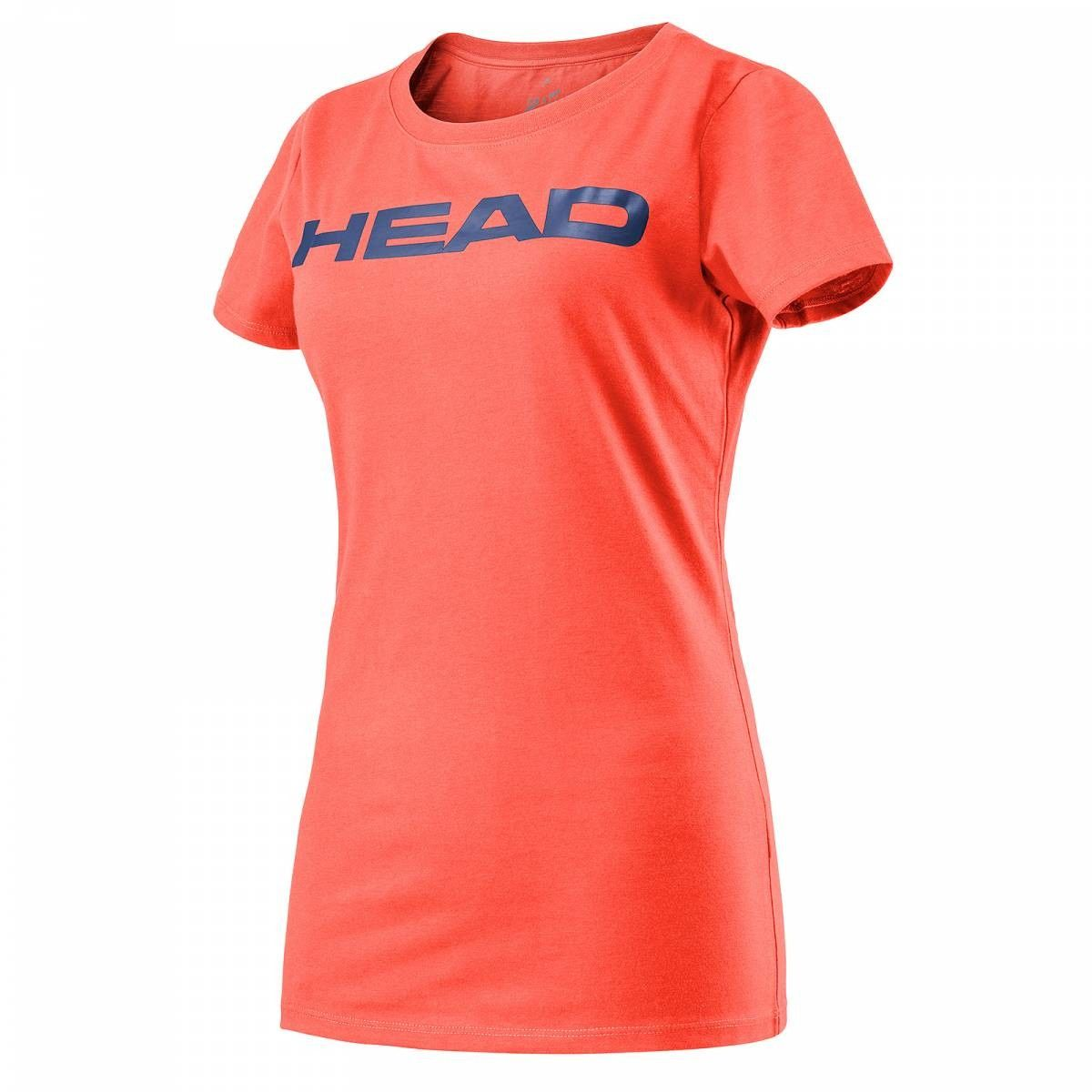 Head Transition W Lucy T-Shirt - coral/navy