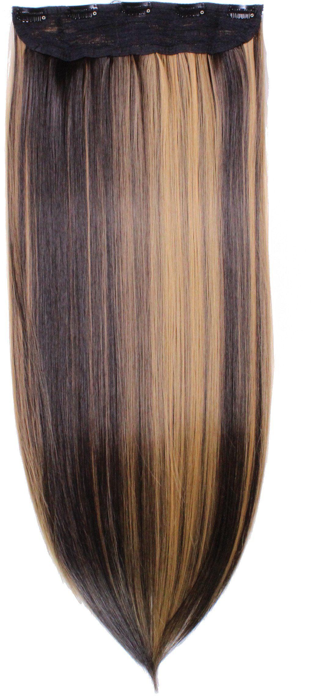hair2heart Clip in Extensions, waga włosów 130 g, gładka, 2/27 A