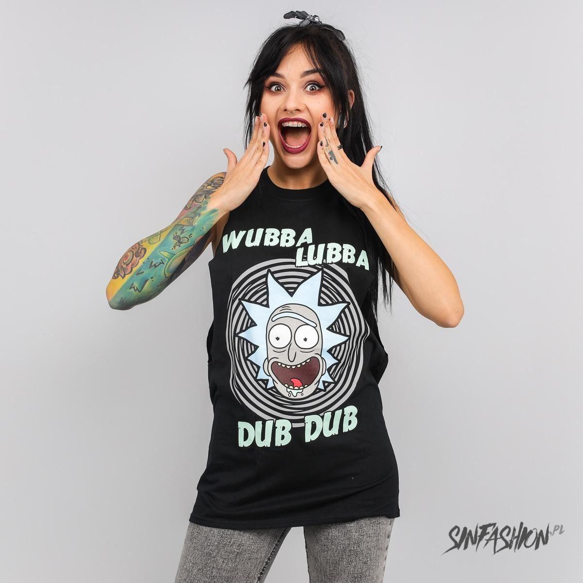 Koszulka cid rick and morty wubba lubba