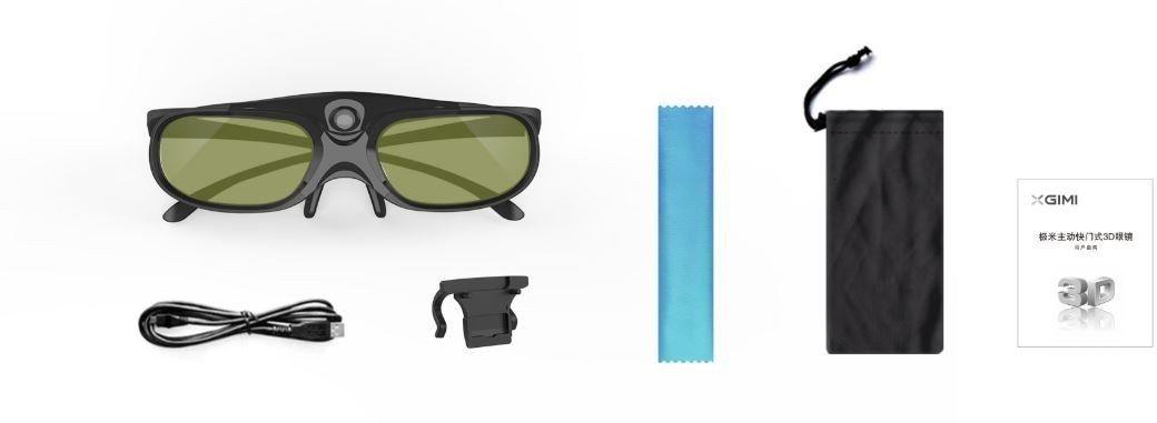 XGIMI aktywne migawkowe okulary 3D DLP-Link 120Hz