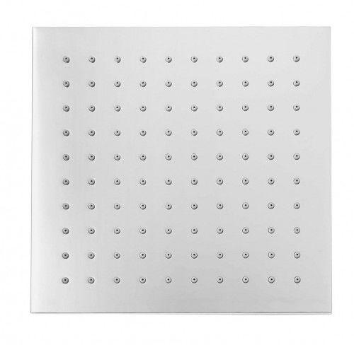 Deszczownica kwadratowa 200x200mm, chrom mosiądz