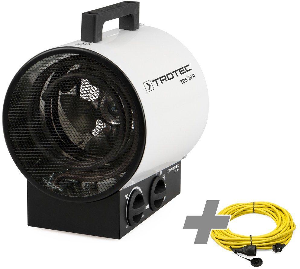 Nagrzewnica elektryczna TDS 20 R + przedłużacz profesjonalny 20 m / 230 V / 2,5 mm