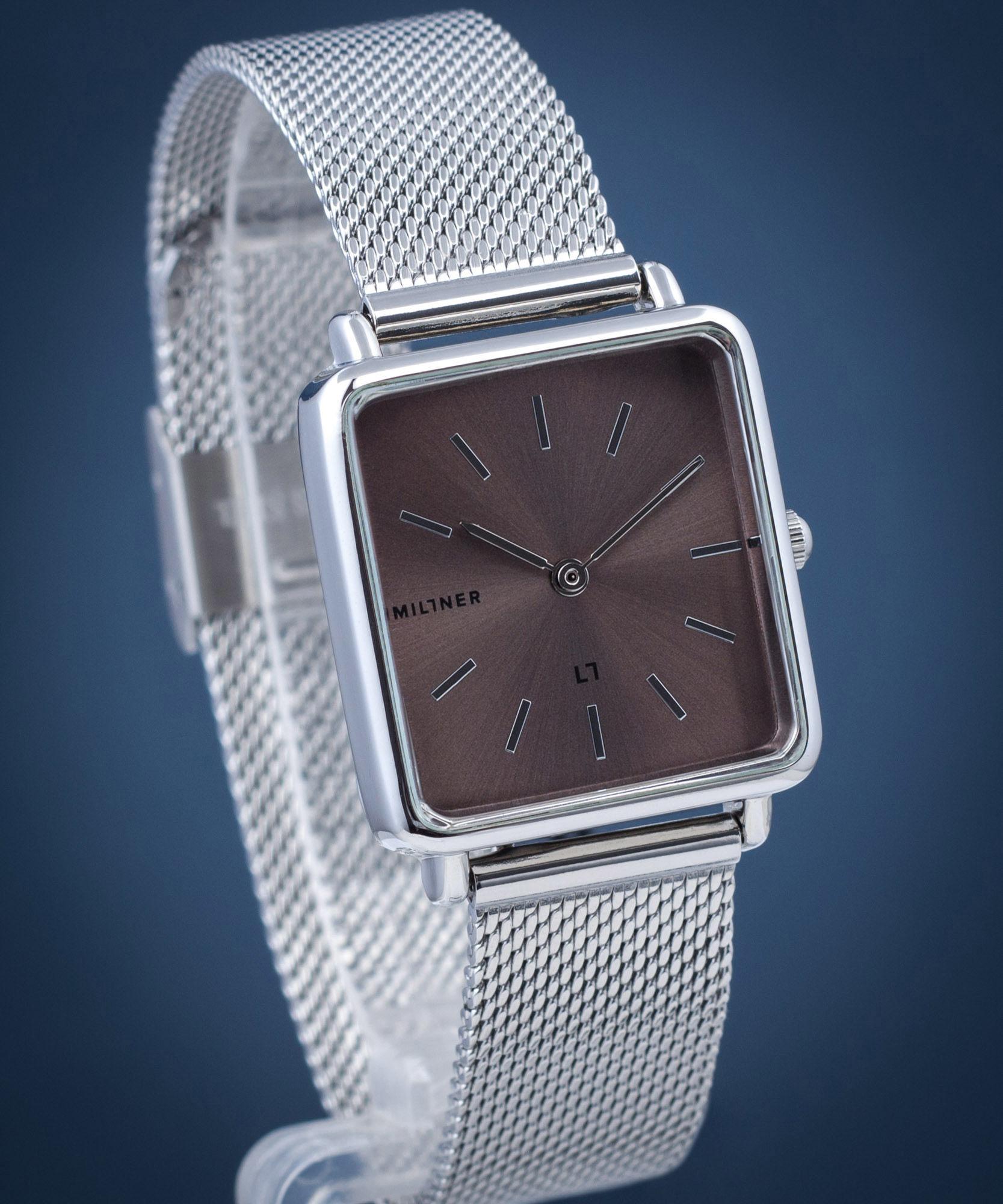Zegarek damski Millner Royal Silver Graphite