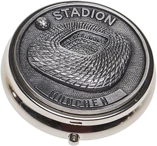 Schnabel-Schmuck Monachium pojemnik na tabletki z cyną nakładka na stadion piłkarski