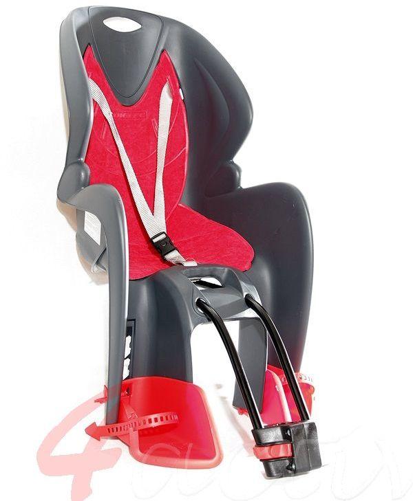 Fotelik rowerowy BIKE-GP red