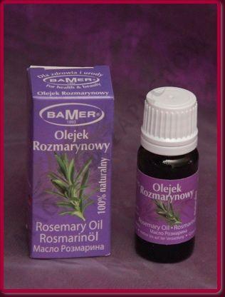 ROZMARYN - Olejek eteryczny BAMER 7 ml
