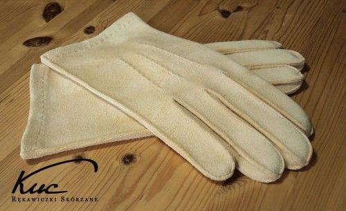 Klasyczne, męskie rękawiczki irchowe - rękawiczki z irchy
